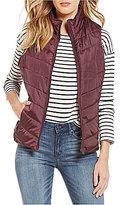 Indigo Saints Cabin Zip-Front Puffer Vest