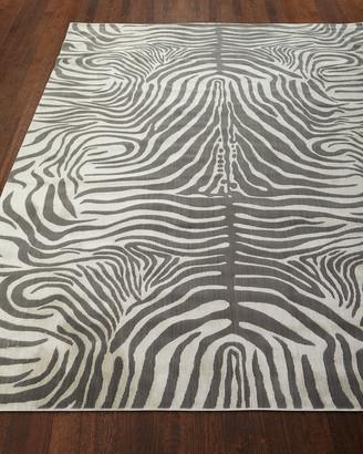 Barclay Butera Dariya Power-Loomed Zebra Rug, 9.3' x 12.9'