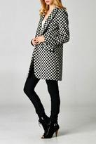 Esley Collection Checkered Coat