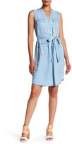 Foxcroft Denim Tencel Dress