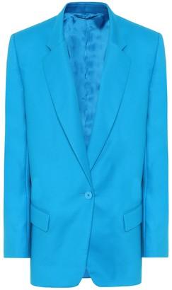 ATTICO Bianca stretch-cotton blazer