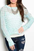 Adore Clothes & More Turquoise Sweater