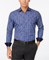 Tasso Elba Men's Paisley Contrast Cuff Shirt, Only at Macy's