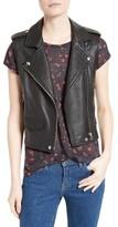 IRO Women's Harri Leather Moto Vest