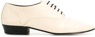 Saint Laurent patent leather lace-up shoes