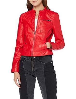 Vero Moda Women's Vmsheena Short Faux Leather Jacket Pi,16 (Size: )