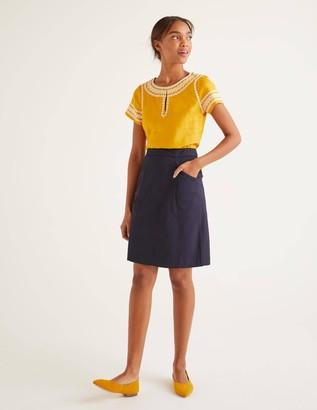 Daisy Chino Skirt