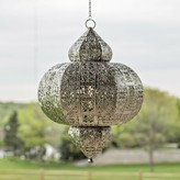 Bungalow Rose Kinsler 1-Light LED Outdoor Hanging Lantern