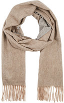 Barneys New York MEN'S REVERSIBLE CASHMERE FLEECE SCARF