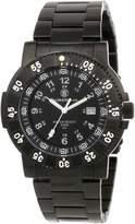 Smith & Wesson Men's SWW-357-BSS Commander Tritium H3 Stainless Steel Strap Watch