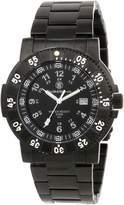 Smith & Wesson Men's SWW-357-BSS Commander Tritium H3 Stainless Steel Strap Watch