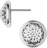Links of London Timeless sterling silver domed stud earrings