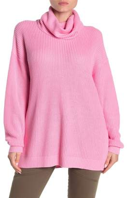 Tularosa Oversized Turtleneck Tunic Sweater