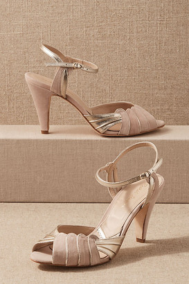 Anthropologie Caramia Heels By in Pink Size 7