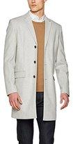 New Look Men's Wool Overcoat Coat
