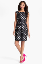 Eliza J Polka Dot Tulip Dress