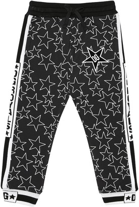 Dolce & Gabbana Kids Star-printed cotton trackpants