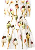 Dolce & Gabbana ice-cream print dress - women - Cotton - 38
