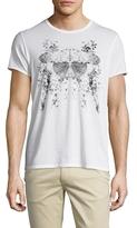 Alexander McQueen Butterfly Knit T-Shirt
