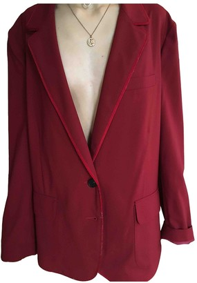 6397 Red Wool Jackets