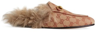 Gucci Princetown Slipper with Fur