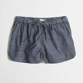 "J.Crew Factory 3"" Chambray Drawstring Short"
