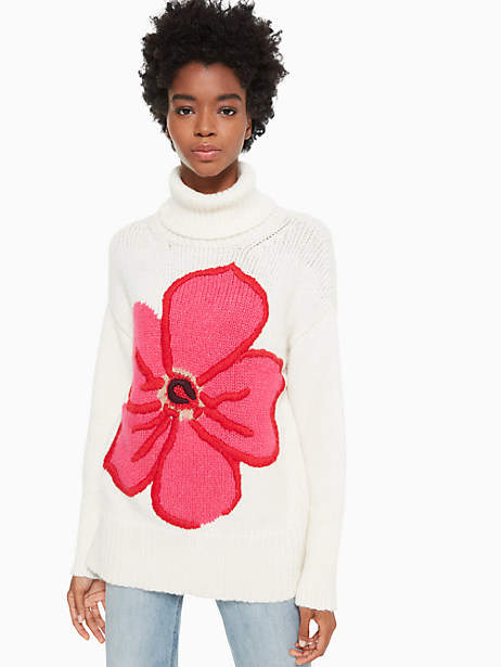Kate Spade Floral intarsia sweater