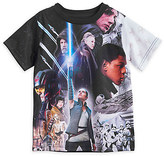 Disney Star Wars: The Last Jedi Cast Sublimated T-Shirt for Kids