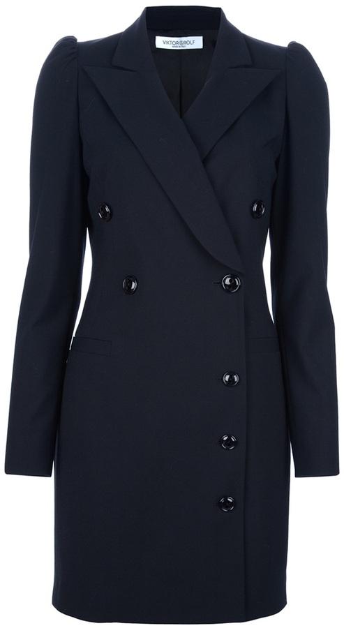 Viktor & Rolf double-breasted coat