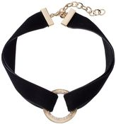 Apt. 9 Double Strand Velvet Circle Choker Necklace