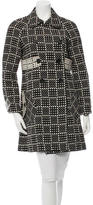 Marc by Marc Jacobs Wool Polka Dot Coat