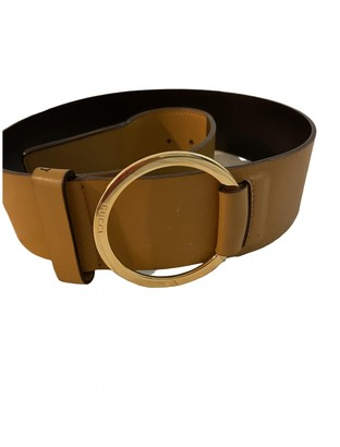 Gucci Camel Leather Belts