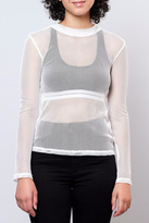 Honey Punch Fitted Mesh Top