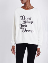 Wildfox Couture Don't sleep just dream jersey sweatshirt