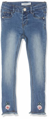 Name It Baby Girls' Nmfpolly Dnmbila 2233 Ancle Pant Jeans