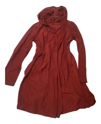 Max & Co. Red Synthetic Coats