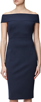 Adrianna Papell Off Shoulder Fitted Dress, Blue Moon