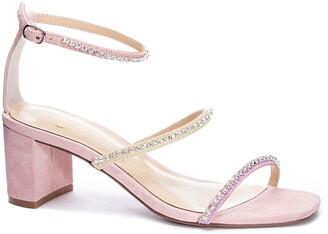 42 GOLD Loretta Block Heel Sandal
