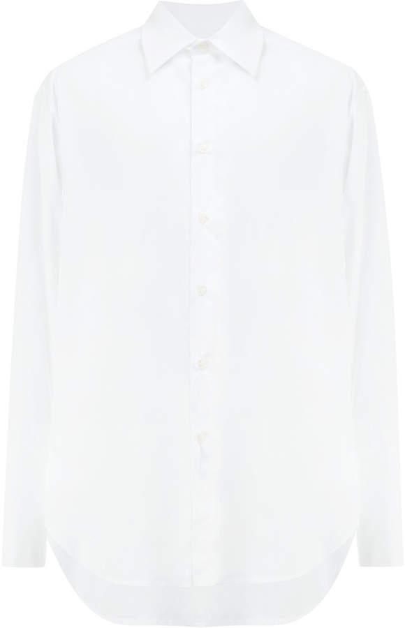 Yang Li classic button shirt