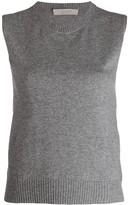 D-Exterior D.Exterior knitted vest top
