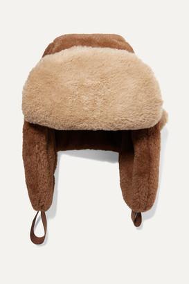 Ruslan Baginskiy Ushanka Two-tone Faux Fur Hat - Brown