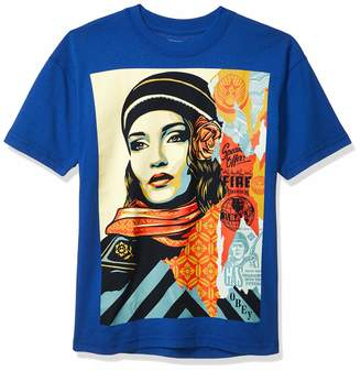 Obey Men's FIRE Sale SS Recycled Organic TEE