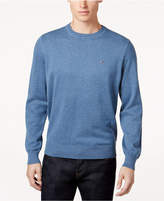 Tommy Hilfiger Men's Big & Tall Signature Solid Crew Neck Sweater