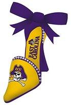East Carolina Pirates High Heel Shoe Christmas Ornament