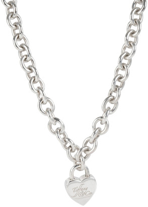Tiffany & Co. Heart Locket Sterling Silver Necklace