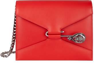 Alexander McQueen Leather Beatle Pin Bag