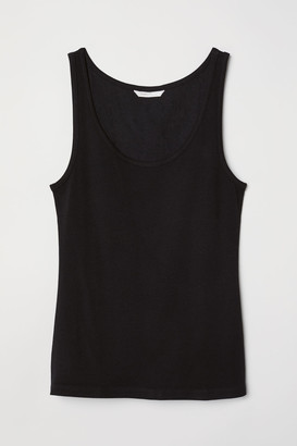 H&M Jersey Tank Top - Black