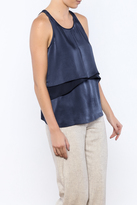Elizabeth and James Silk Racerback Tank