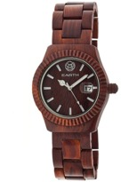 Earth Wood Pith Bracelet Watch.