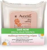 Aveeno Ultra-Calming Makeup Removing Wipes Twin Pack